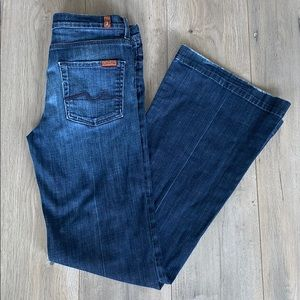 7 For All Mankind size 30 Ginger